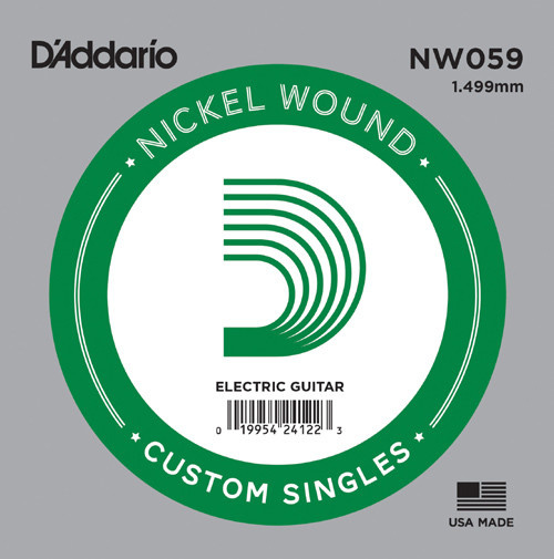 D'Addario NW059 Custom Single .059-1