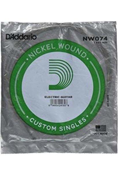 D'addario NW074 Custom Single .074