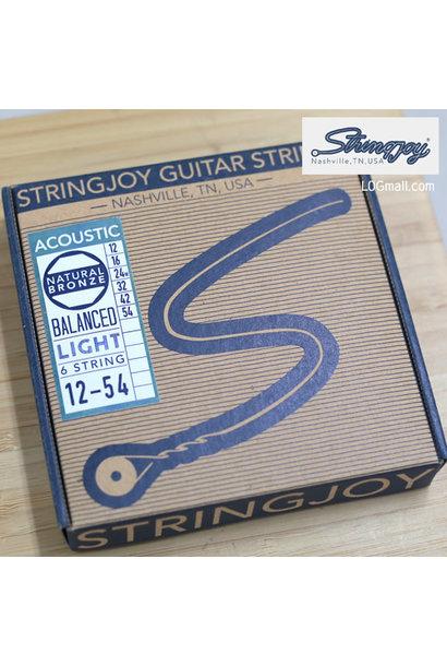 Stringjoy Acoustic Balanced Light SJ-NB1254 ( 12-16-24W-32-42-54 )