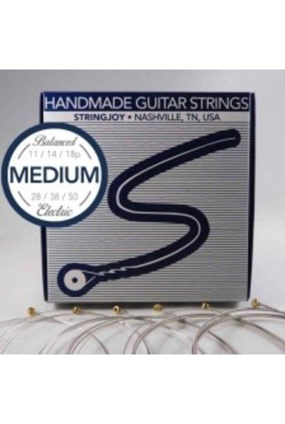 Stringjoy Balanced Medium Electric Guitar Strings (11-50) SJ-BAL11