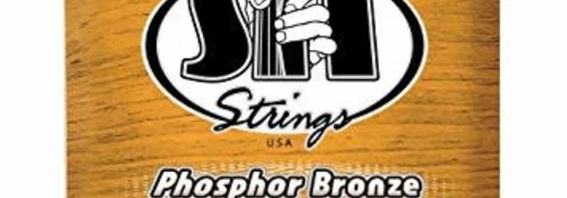 S.I.T. Strings Phosphor Bronze Acoustic Medium 13-56 P1356