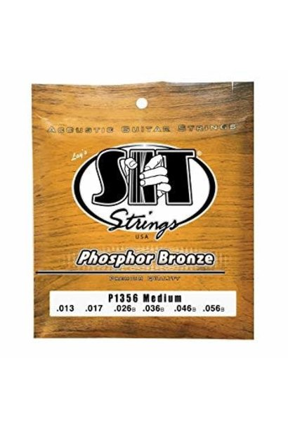 S.I.T. Strings Phosphor Bronze Acoustic Medium 13-56 P1356