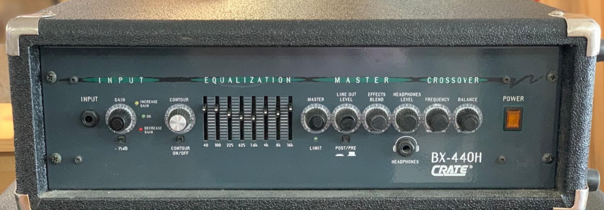 BX-440H Bass Head