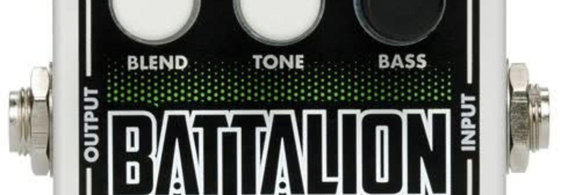 EHX Nano Battalion Bass Pre-amp and Overdrive