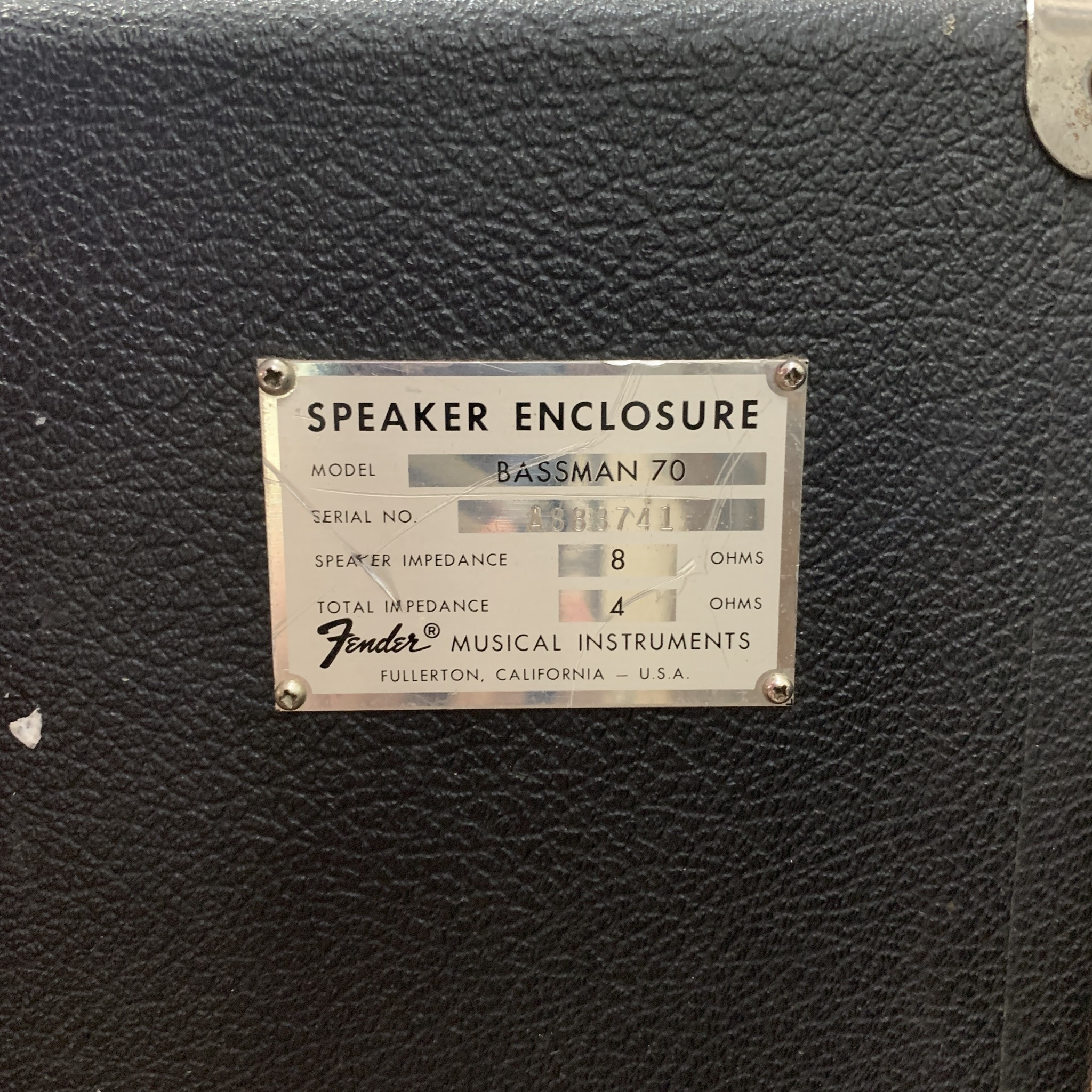 Fender Bassman 70  2x15 Cabinet-3