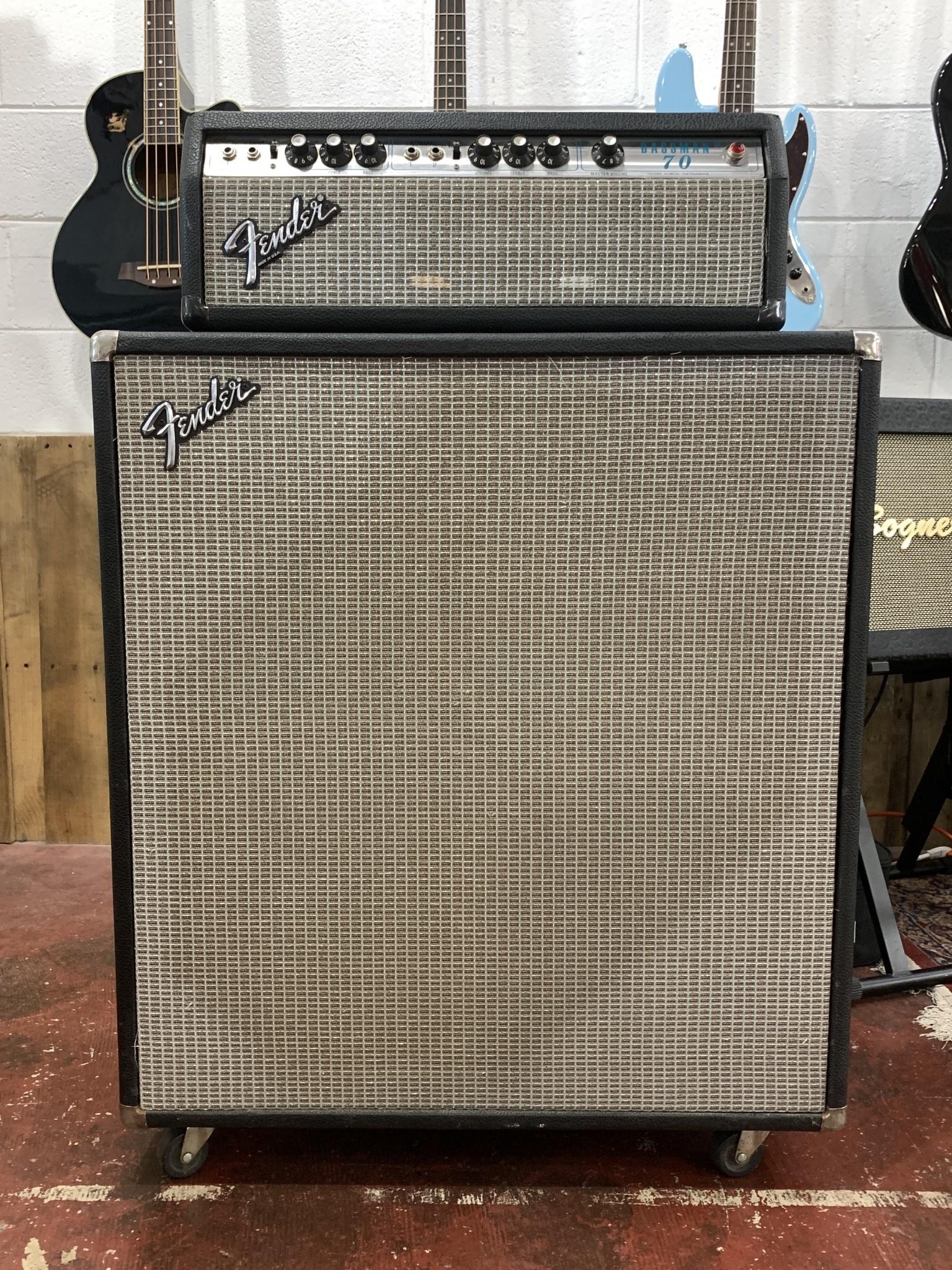 Fender Bassman 70  2x15 Cabinet-4