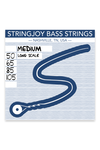 Stringjoy Bass Medium Bass Strings (50-105) SJ-BA50105