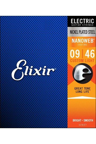 Elixir 12027 Nanoweb 9-46 Custom Light
