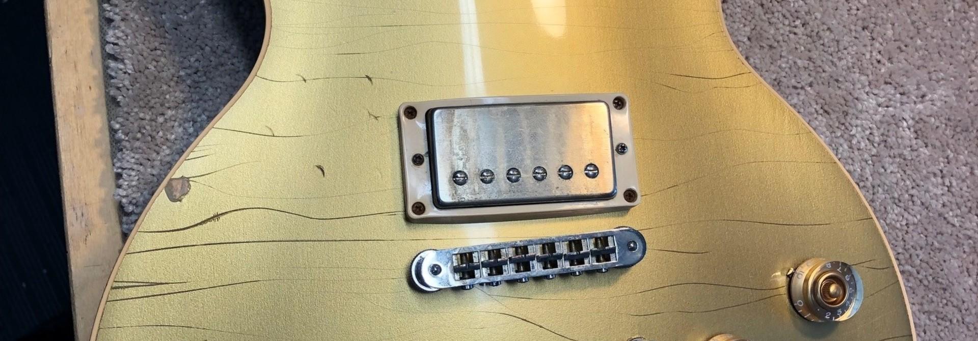 2008 Les Paul Classic Gold Top Refin