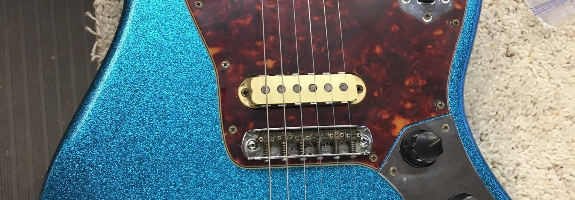 1962 Fender Jaguar Refin