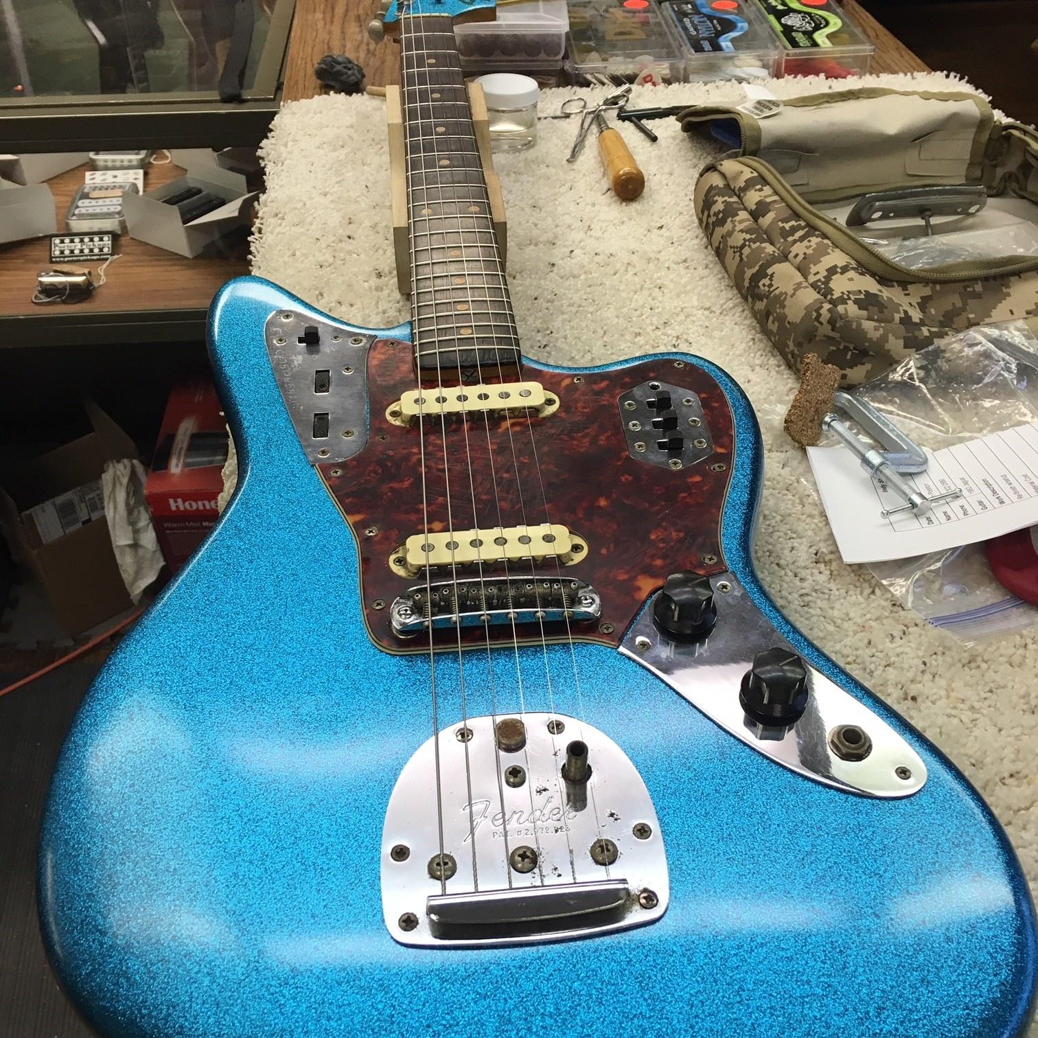 1962 Fender Jaguar Refin-2