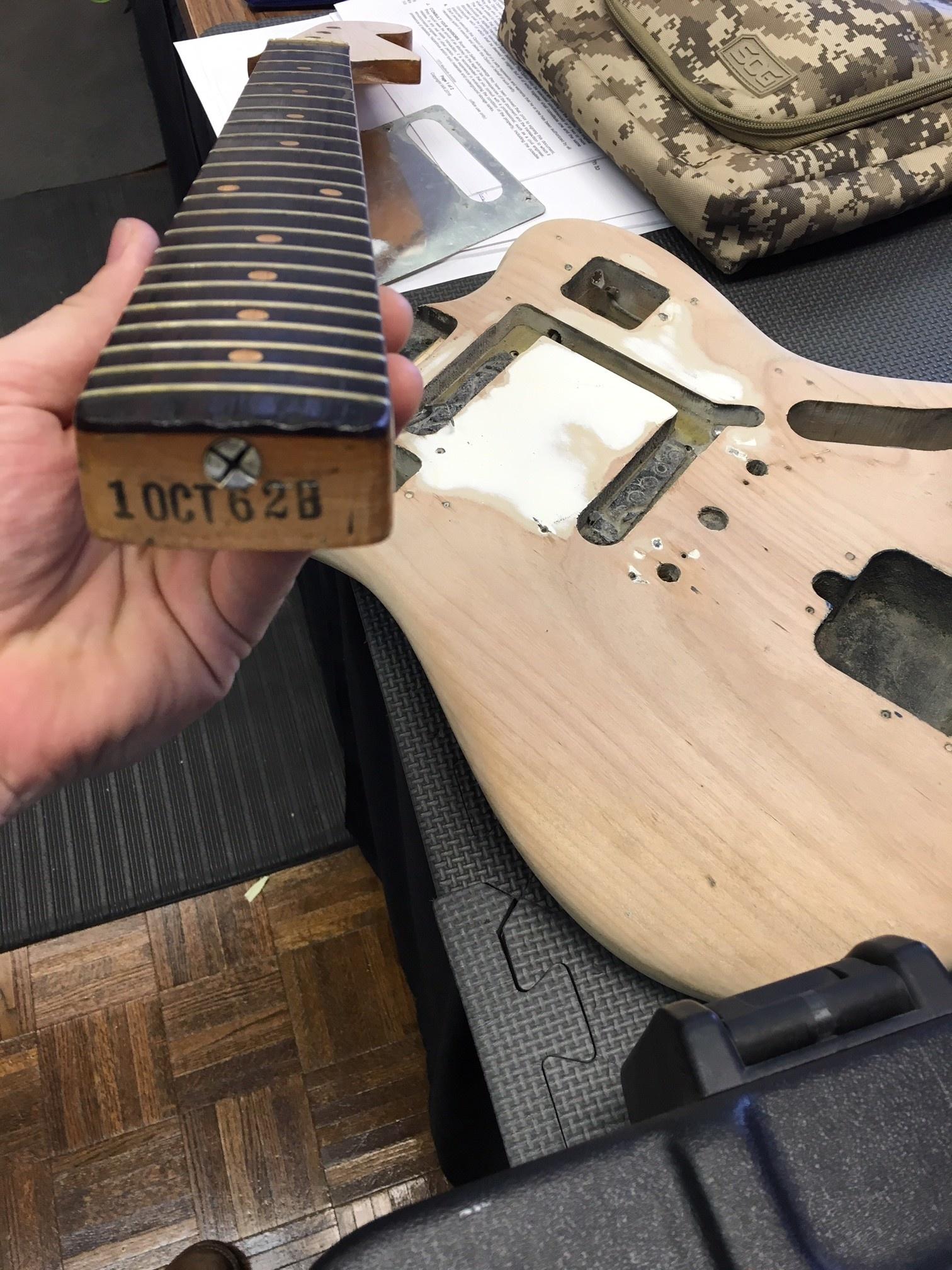 1962 Fender Jaguar Refin-5