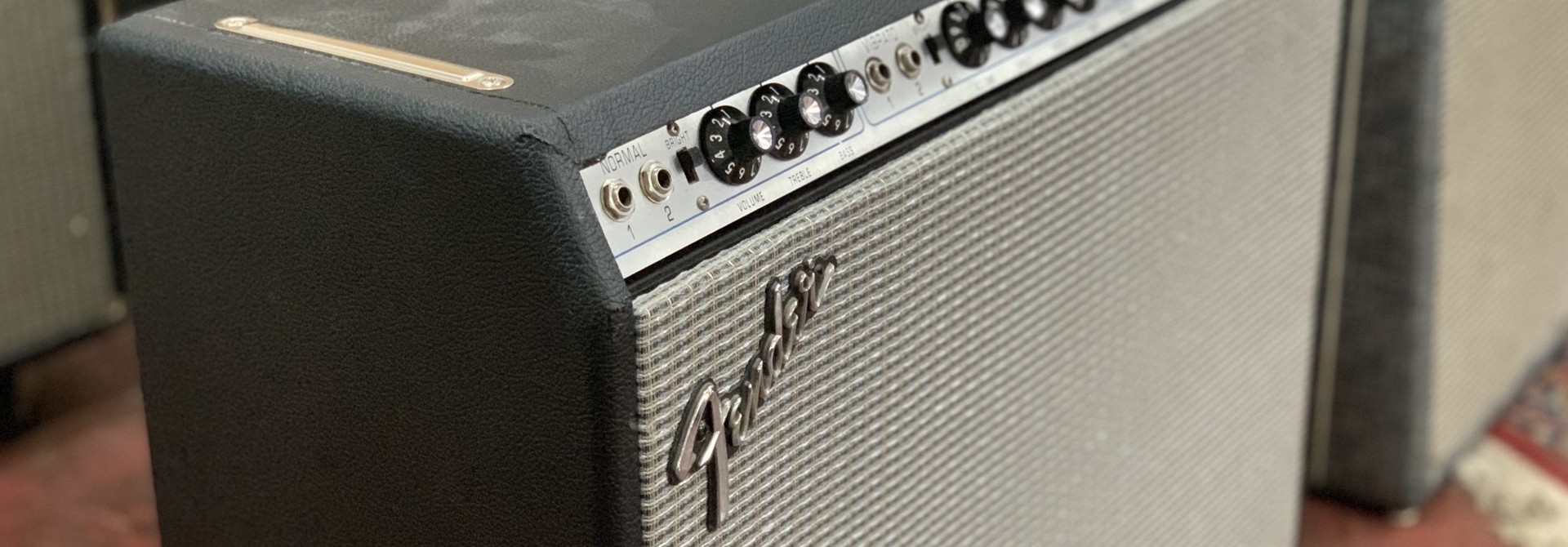 """Fender '75 Silverface Super Reverb 2x10"""" (rescue and re-house)"""