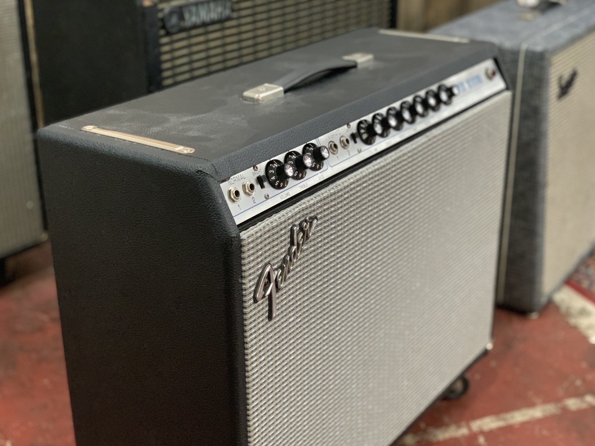 """Fender '75 Silverface Super Reverb 2x10"""" (rescue and re-house)-1"""