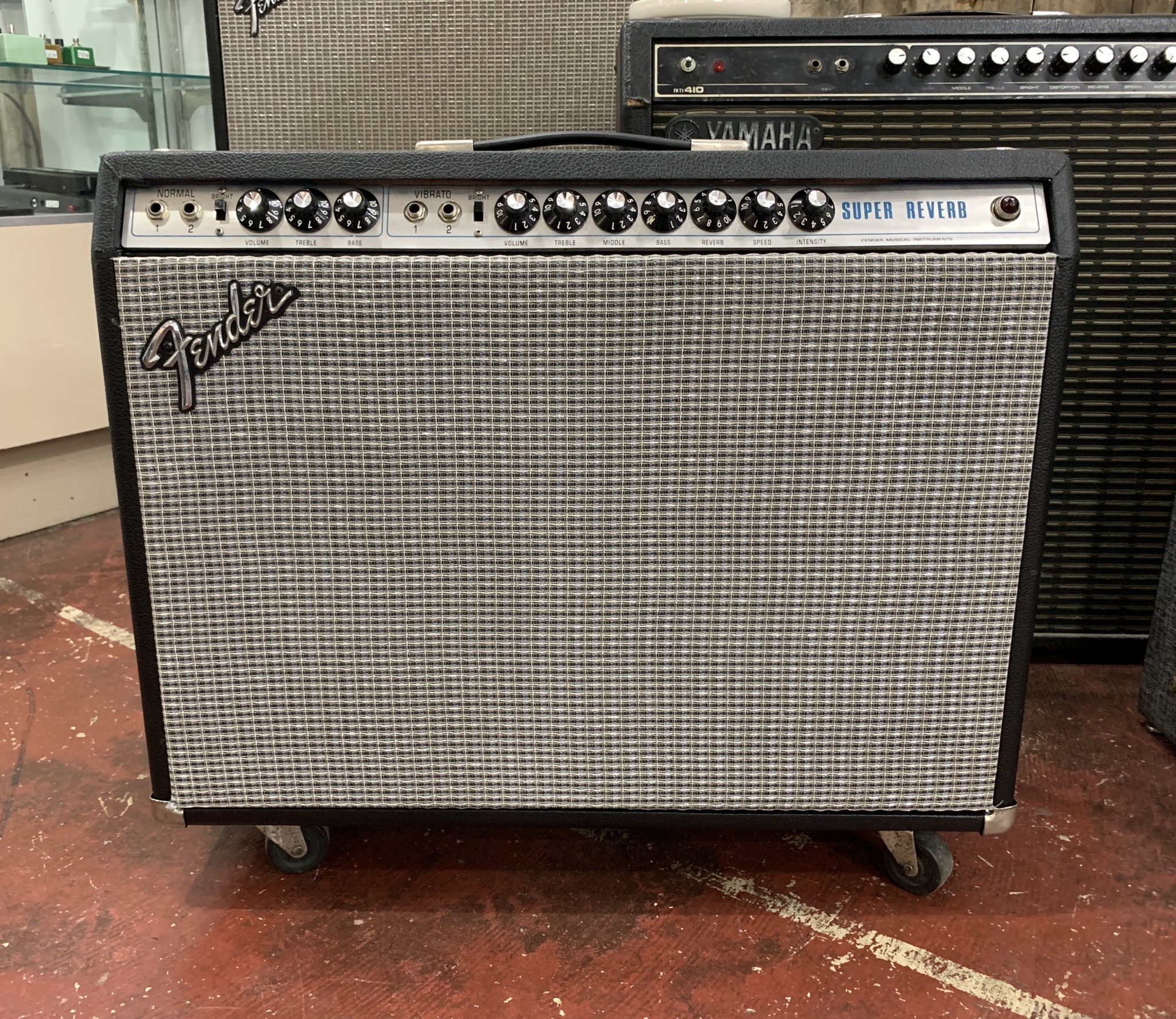 """Fender '75 Silverface Super Reverb 2x10"""" (rescue and re-house)-2"""