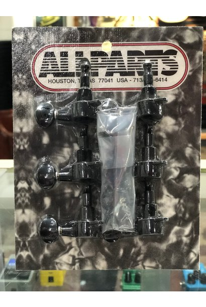 Allparts Gotoh mini-tuning keys 6-in-line (Black)