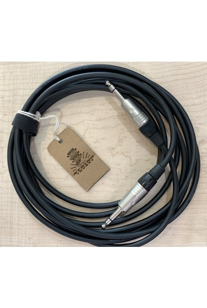 Alphatone Audio 15ft TRS-TRS Instrument Cable