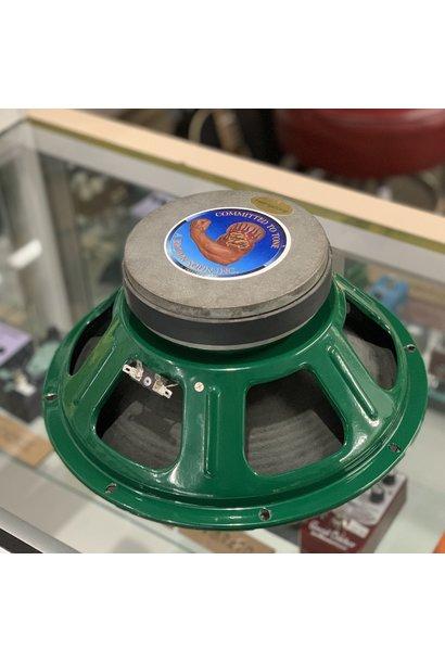"12"" 16 ohm Tone Tubby Green Ceramic 4040 Speaker (Hempcone)"
