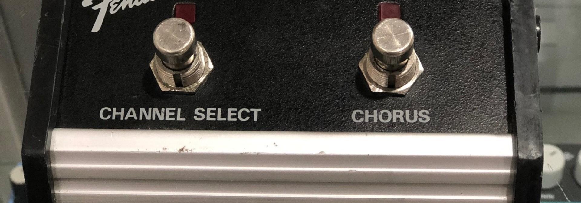 Fender Channel Selector w/ chorus switch