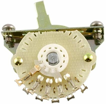 All Parts EP-4374 4-Way Oak Grigsby Blade Switch for Telecaster®-1