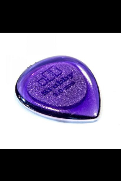 Dunlop Stubby Jazz 2.0mm Picks (6pk)