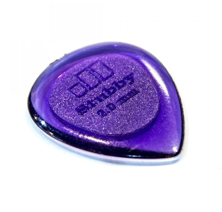 Dunlop Stubby Jazz 2.0mm Picks (6pk)-1