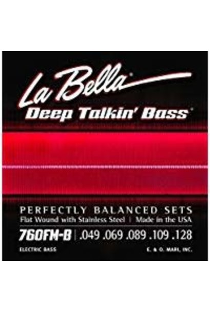 La Bella 760FM-B Deep Talkin Bass 5 String .049-.128