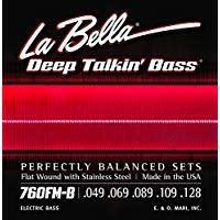 La Bella 760FM-B Deep Talkin Bass 5 String .049-.128-1