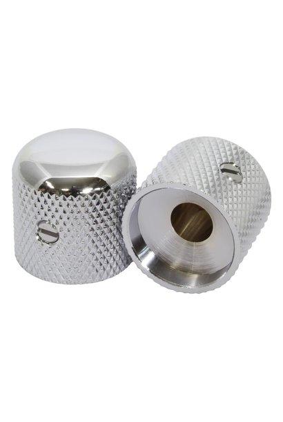 Dome Knob Chrome 6mm shaft
