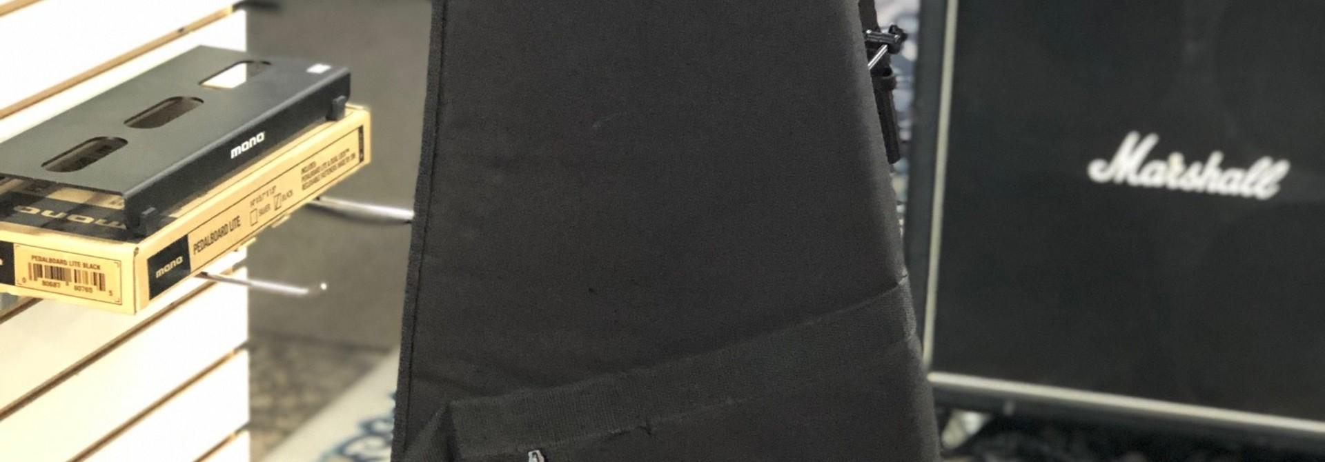 Gibson Padded Gig Bag Black/Grey interior