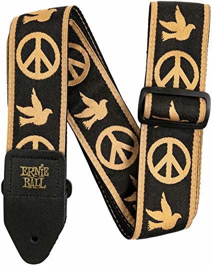 Ernie Ball Peace Love Dove Jacquard Strap P04613-2