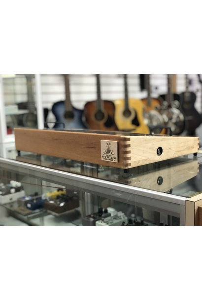 "Indy String Theory 24""x14"" Cherry/Maple Pedalboard  S/N. 15"
