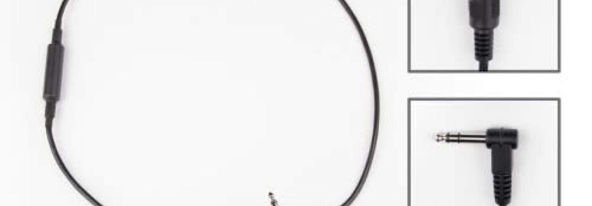 "Strymon Midi Exp Cable - Right Angle Midi to Straight 1/4"" TRS"