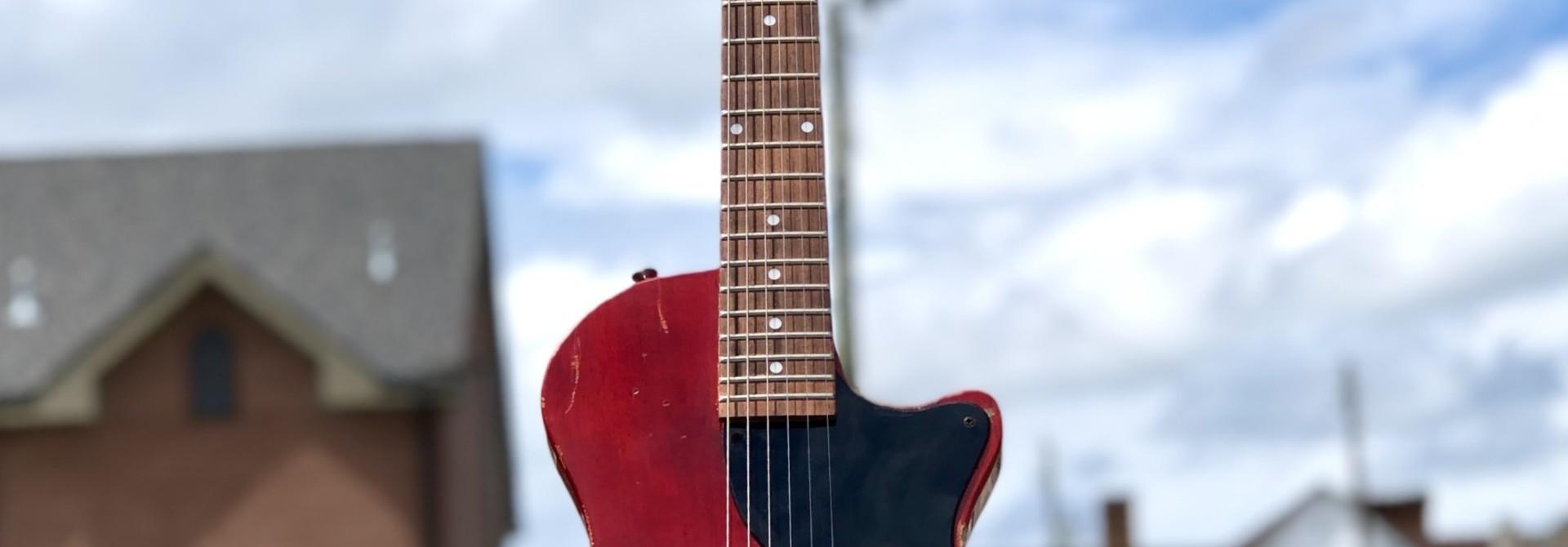 Les Paul Jr - Cherry Relic