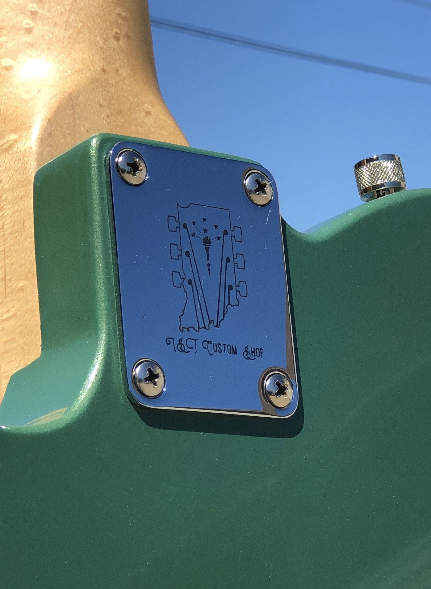 Indy String Theory Custom Shop Cabronita Telecaster-9