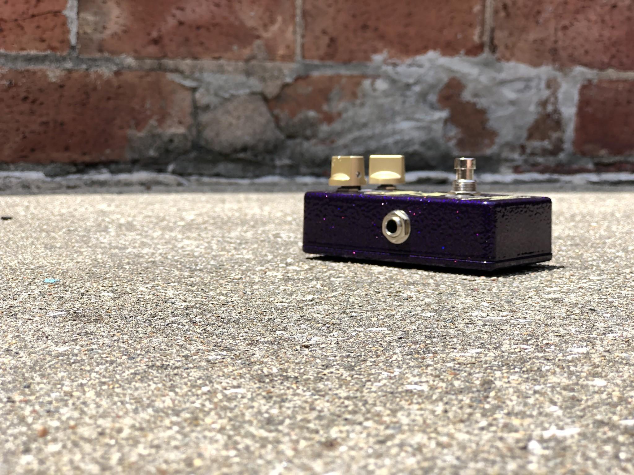 Lotus Pedals Purple Gain-4