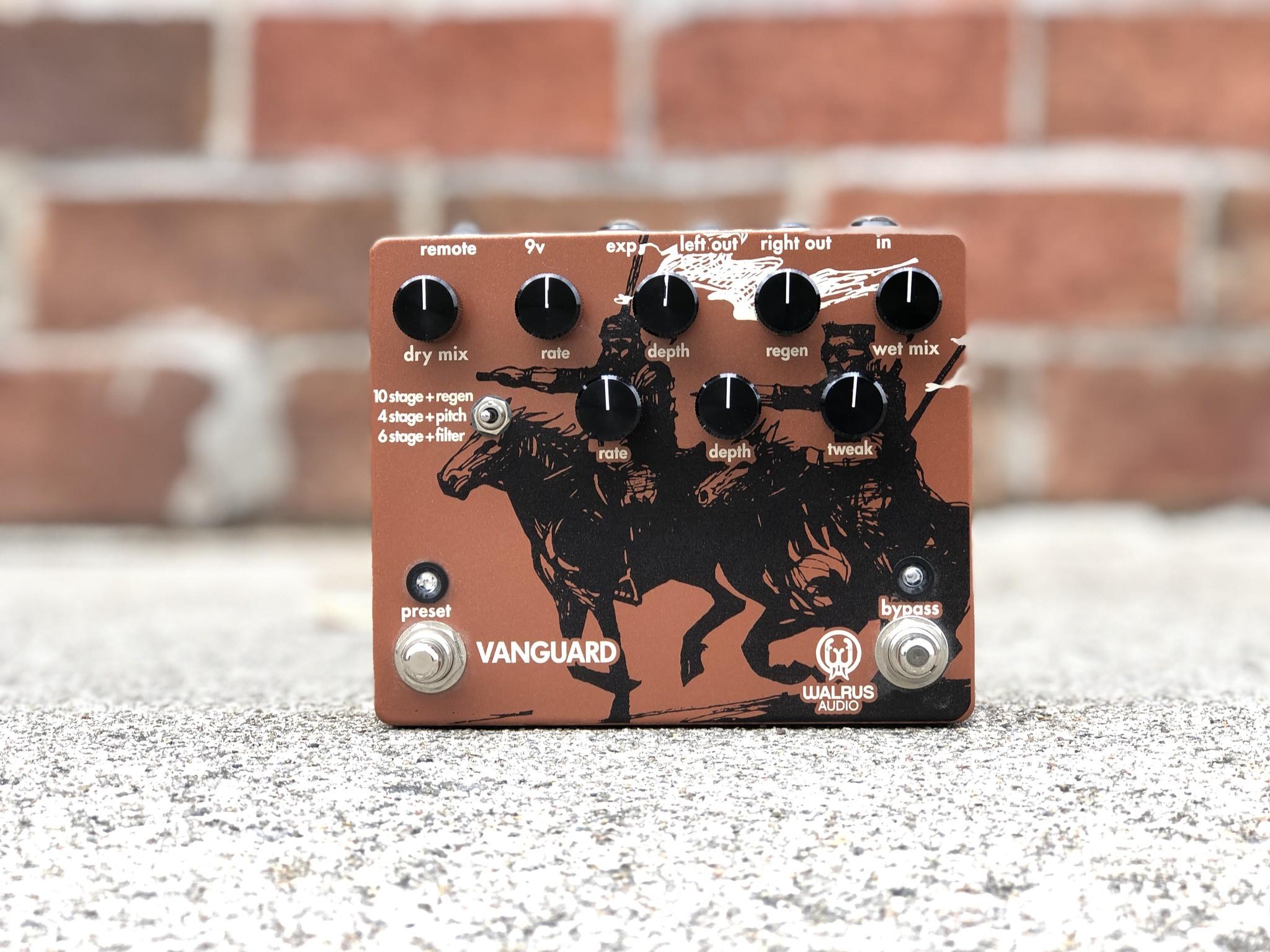 Walrus Audio Vanguard Dual Phaser-1