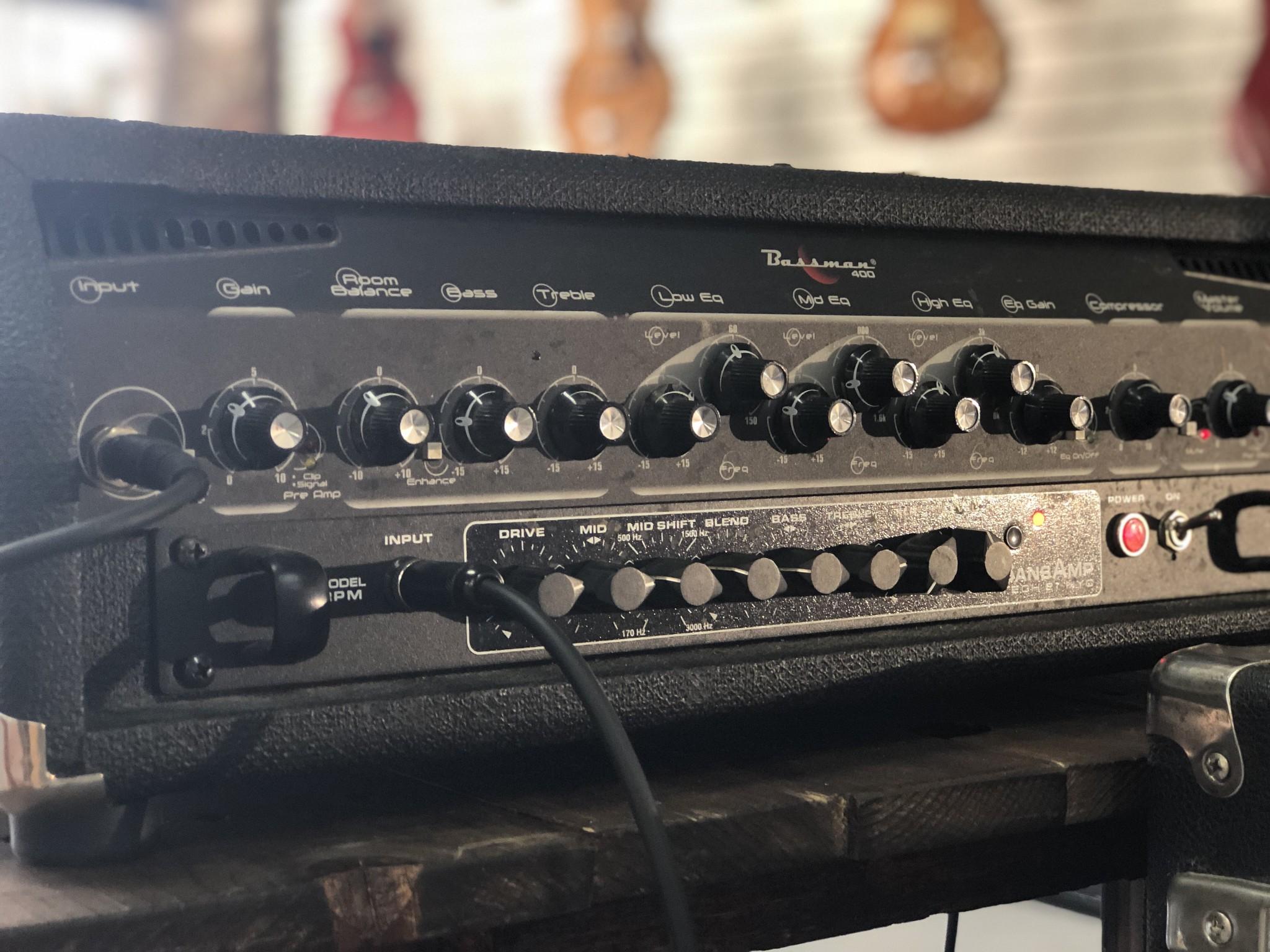 Fender Bassman 400 Rack Head-3