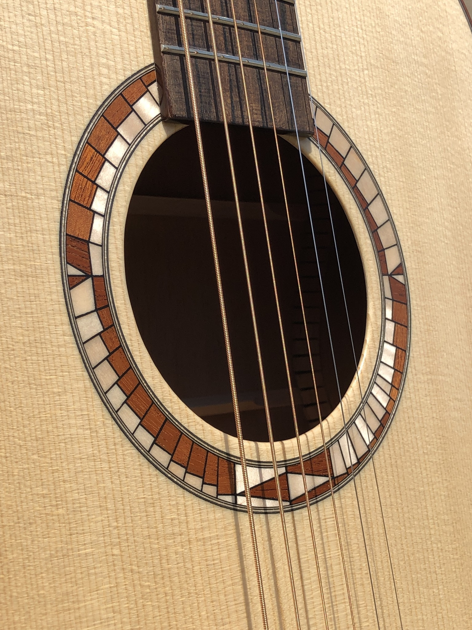 OM Fingerstyle Acoustic - Galloup School Build-6