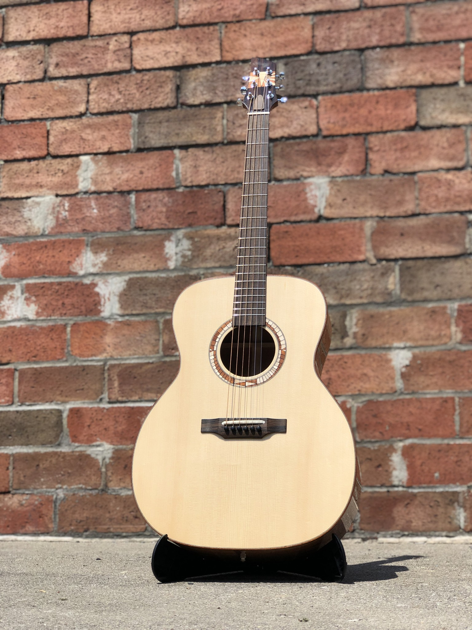 OM Fingerstyle Acoustic - Galloup School Build-1
