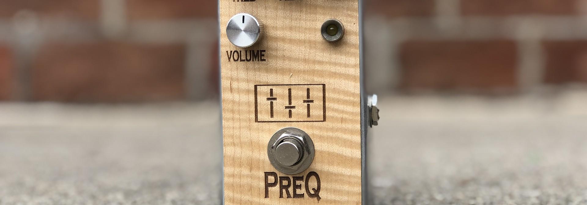 PreQ - GenErik SHO Boost EQ Pedal
