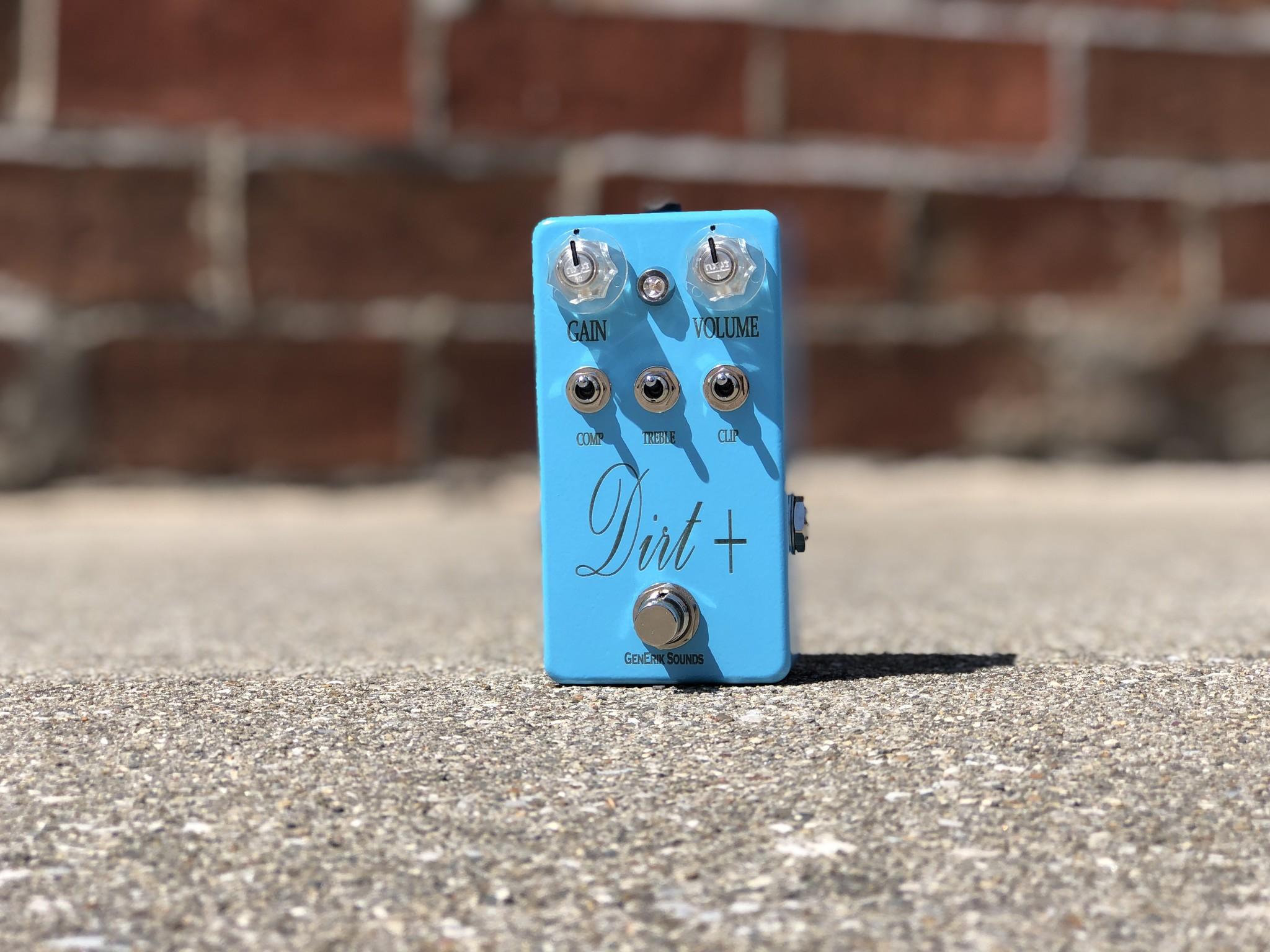 Dirt + Plus - GenErik Sounds Distortion Pedal-1