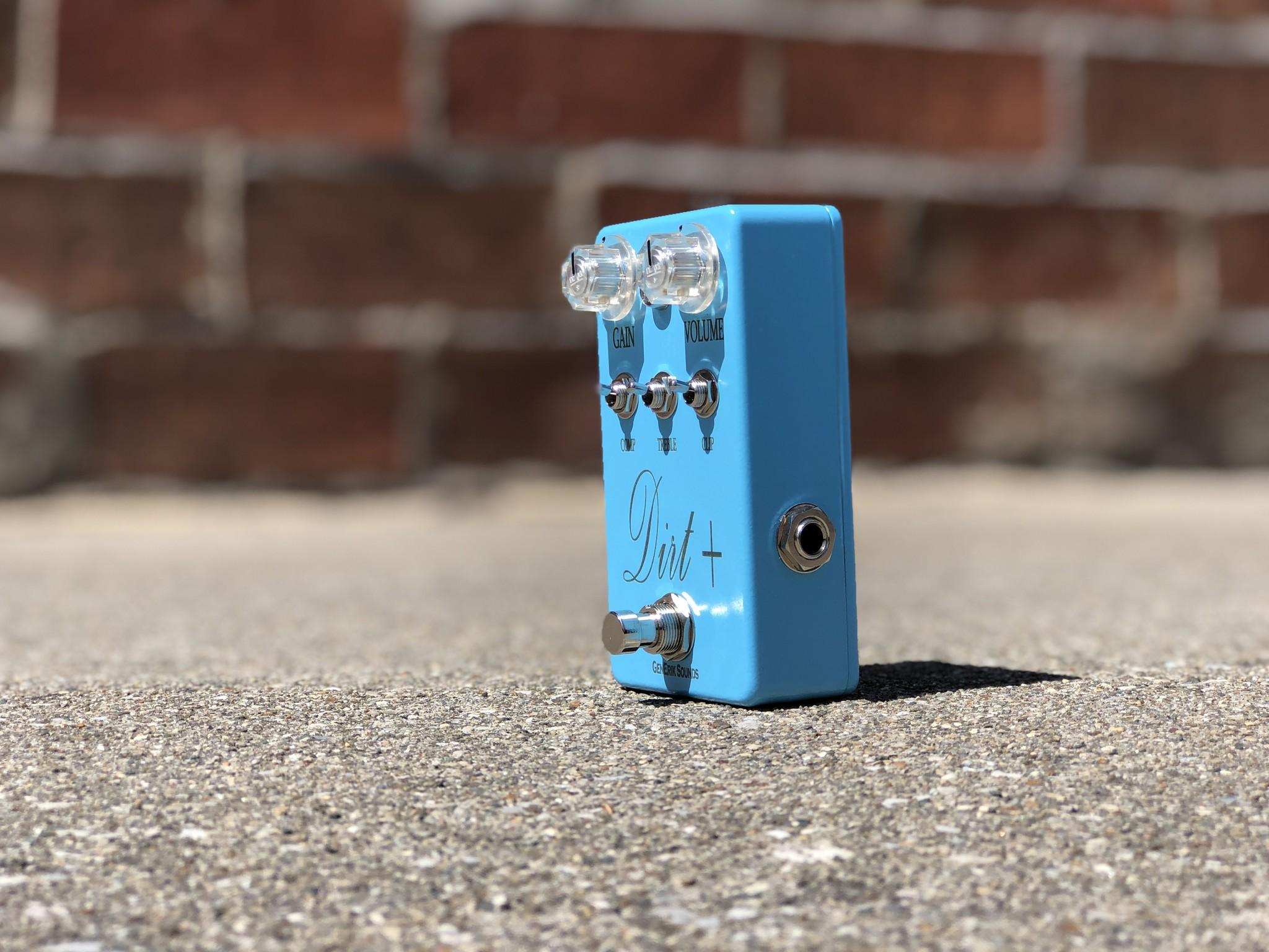 Dirt + Plus - GenErik Sounds Distortion Pedal-3