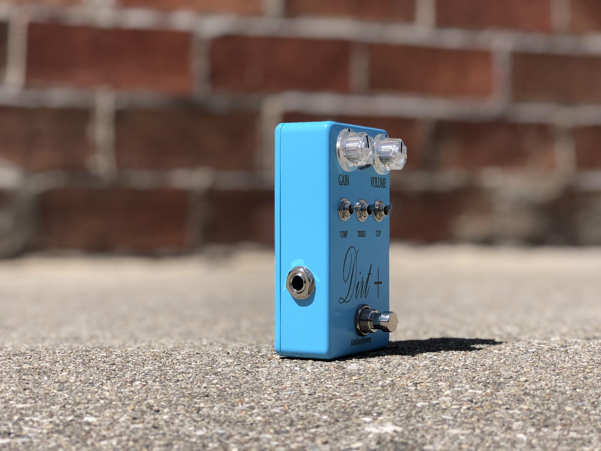 Dirt + Plus - GenErik Sounds Distortion Pedal-2