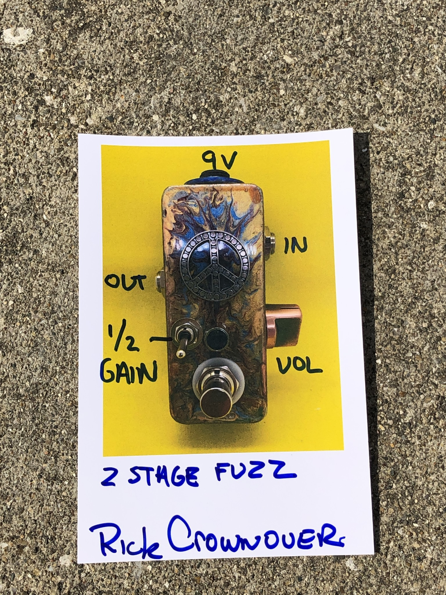 Rick Crownover 2-Stage Mini Fuzz-2