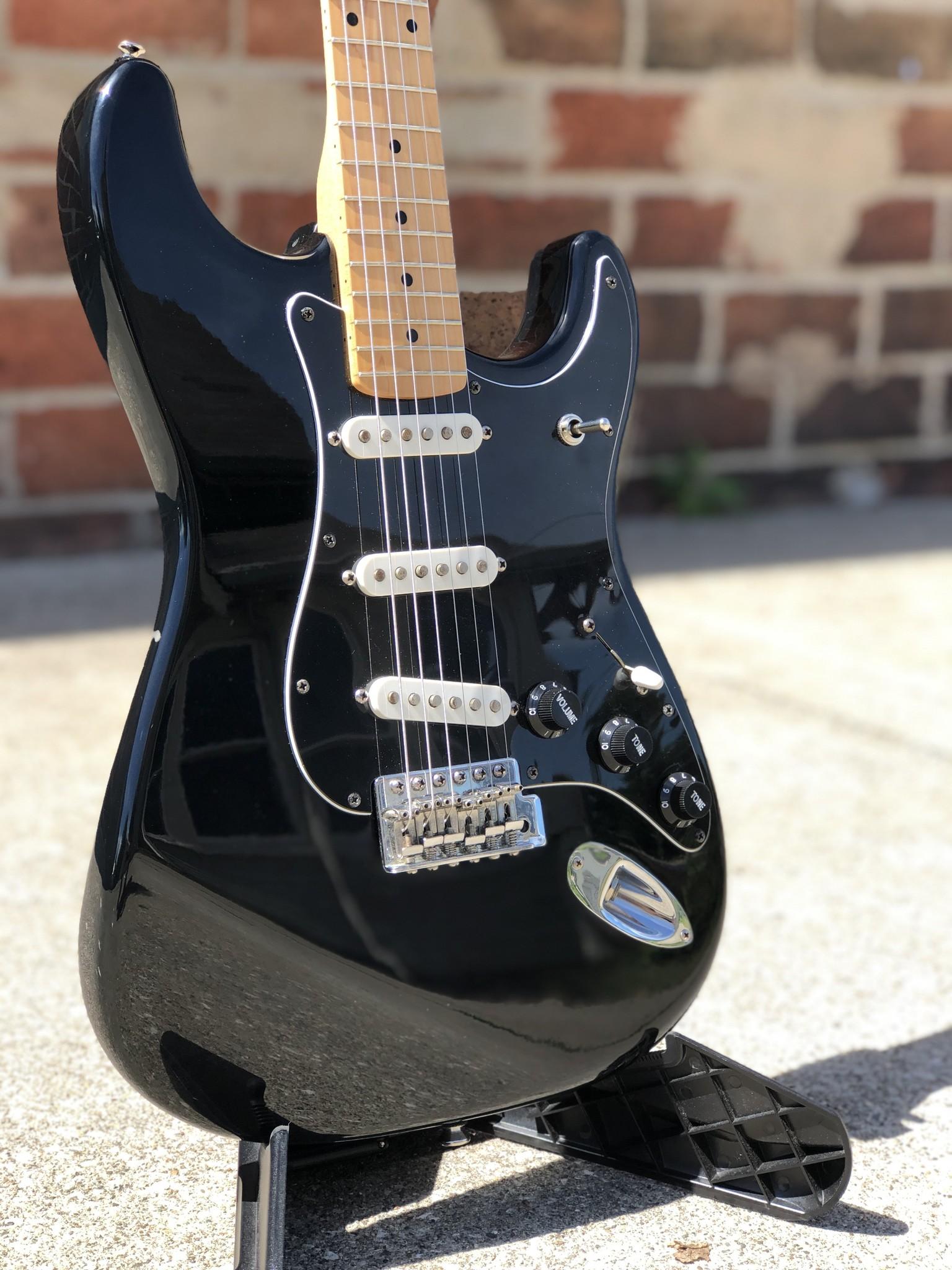 Tuxedo Partscaster Strat-style Guitar-2