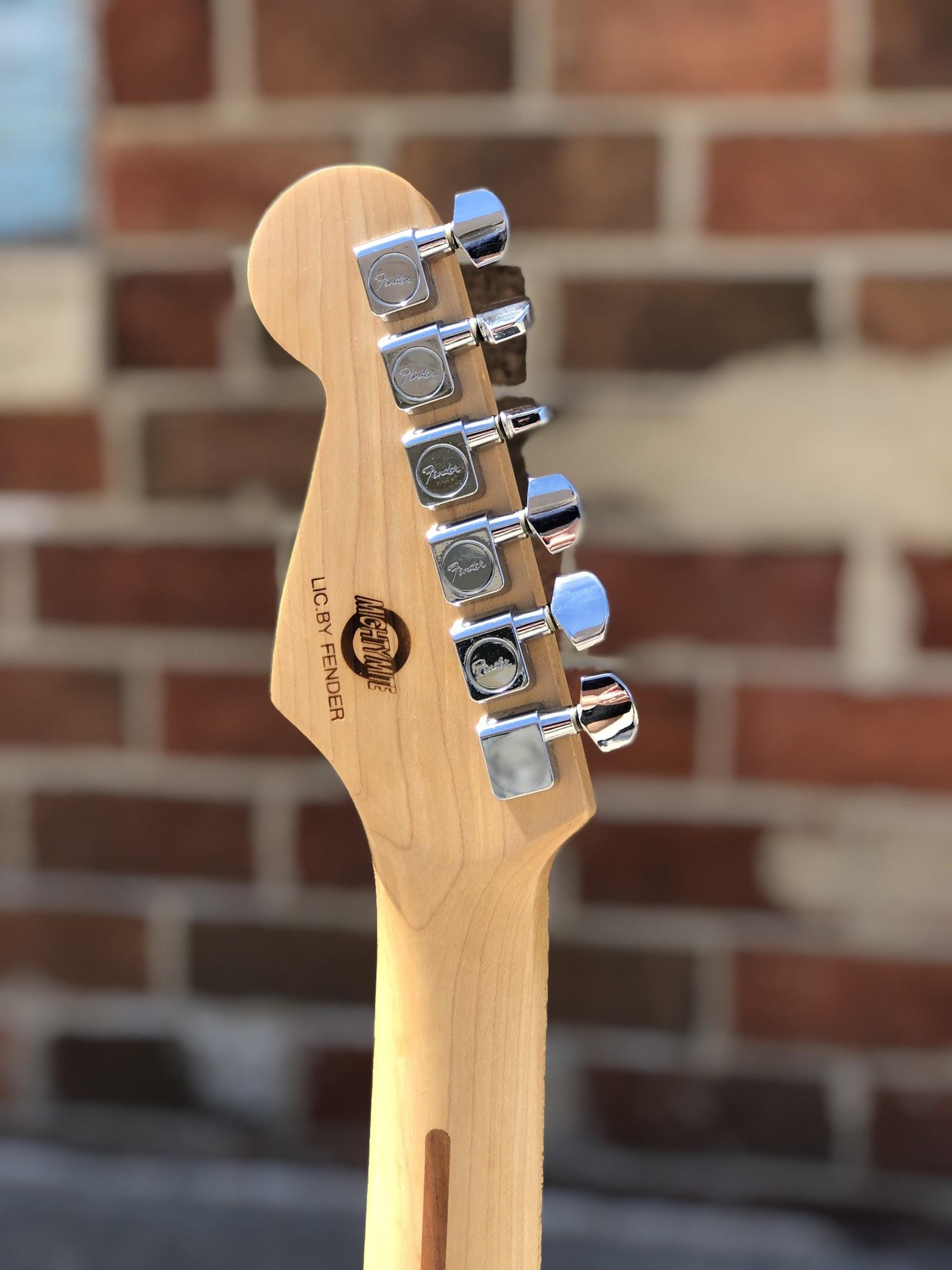 Tuxedo Partscaster Strat-style Guitar-5