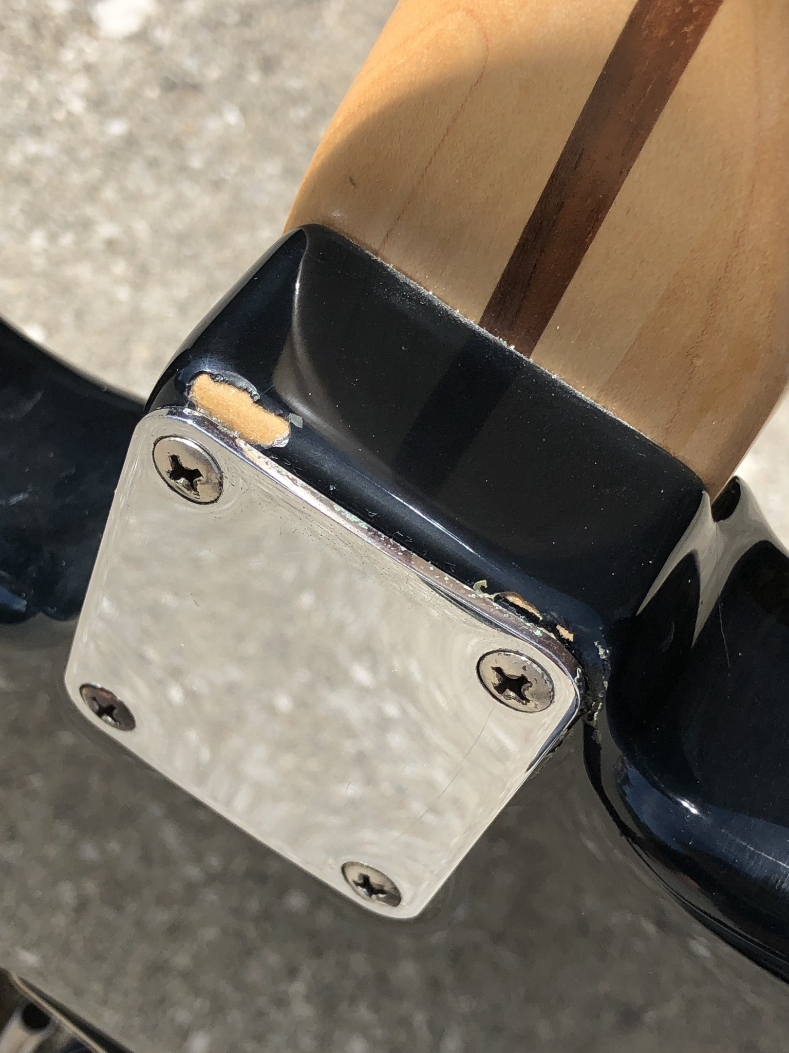 Tuxedo Partscaster Strat-style Guitar-10