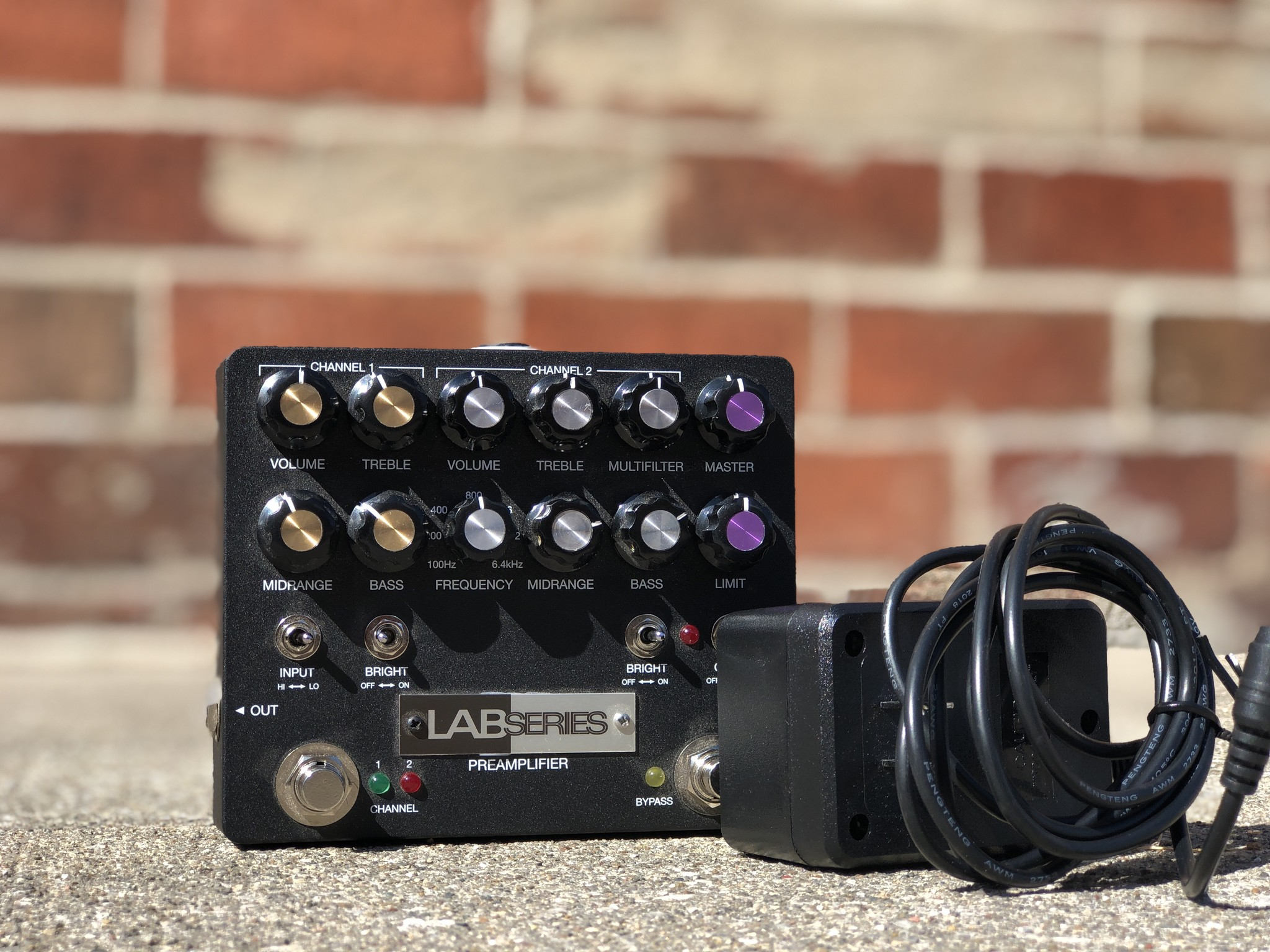Lab Series L5 PreAmp - GenErik Sounds / Aion-3