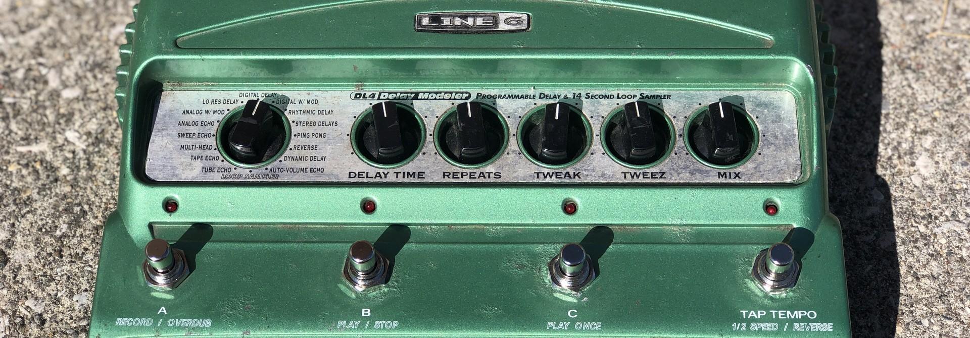 Line 6 DL 4 - Delay Modeler Pedal